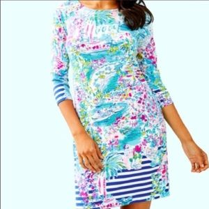 Lilly Pulitzer NWT UPF 50 Pearson Knit Dress M